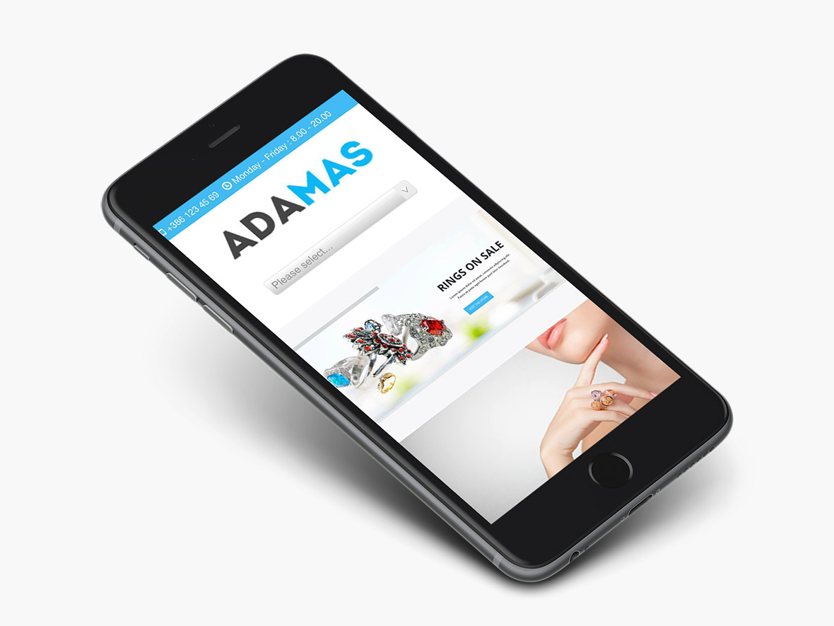 adamas-wordpress-theme-preview-iphone