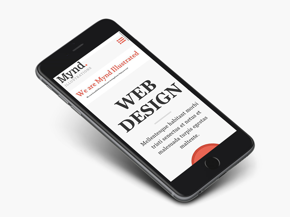 mynd-wordpress-theme-preview-iphone
