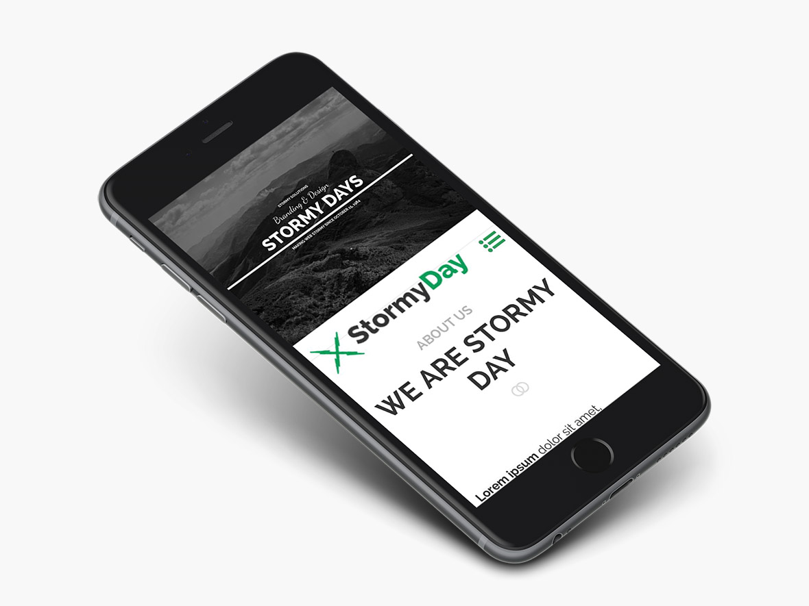 stormydays-wordpress-theme-preview-iphone