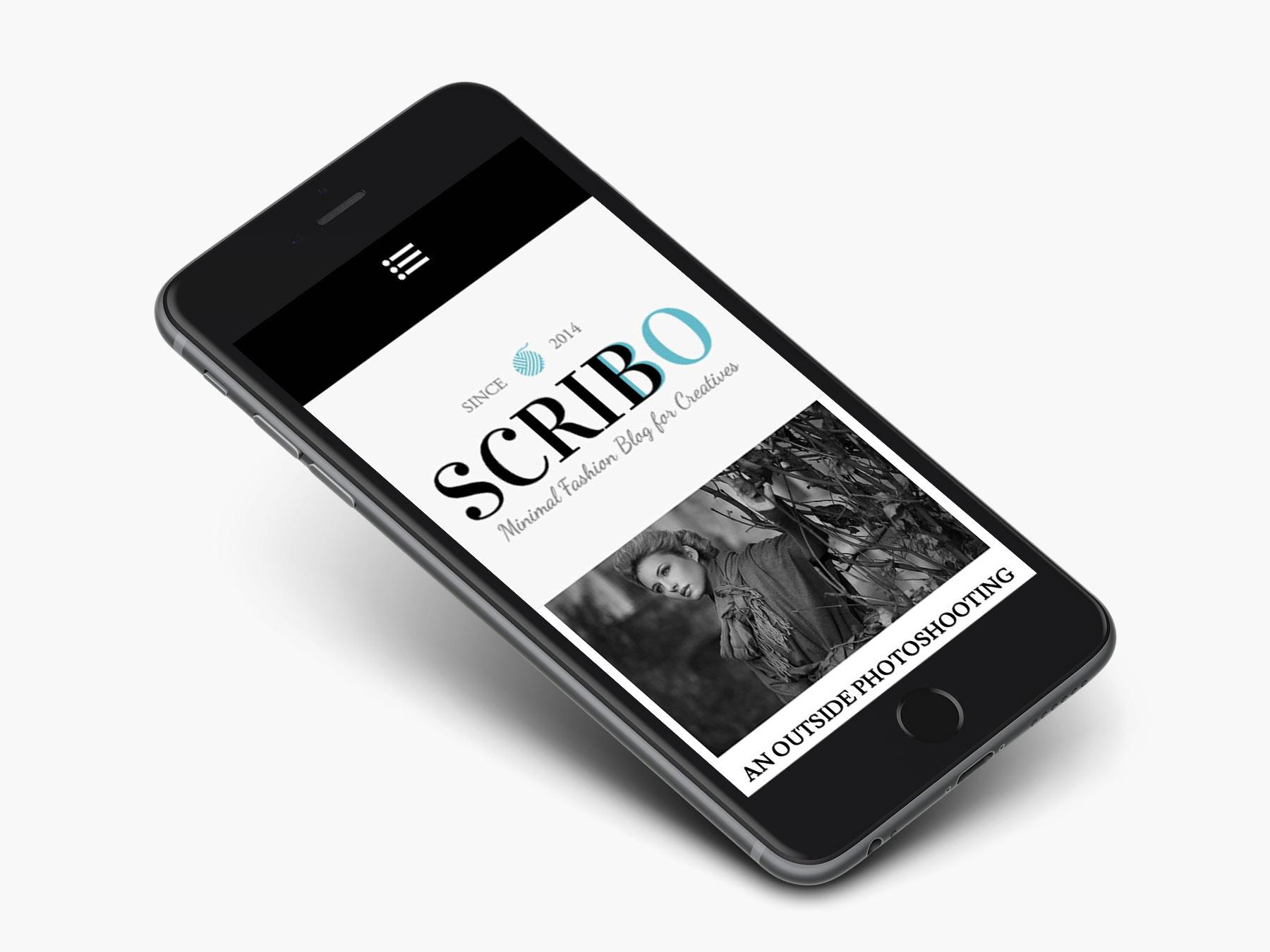 scribbo-wordpress-theme-iphone