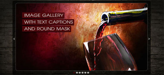 Creative Flash Slideshow with Mask