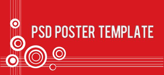 psd poster template freebie premiumcoding