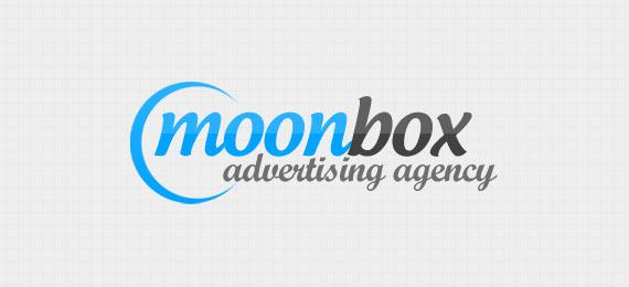 MoonBox PSD logotip freebie - PremiumCoding