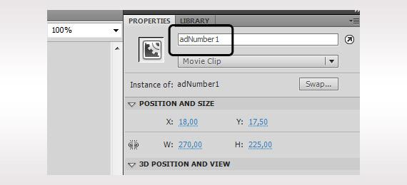 Flash AS3 naming Instance