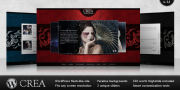 Crea Premium Wordpress Template