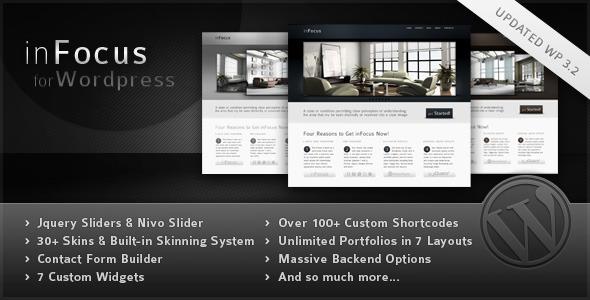 infocus Premium WordPress Theme