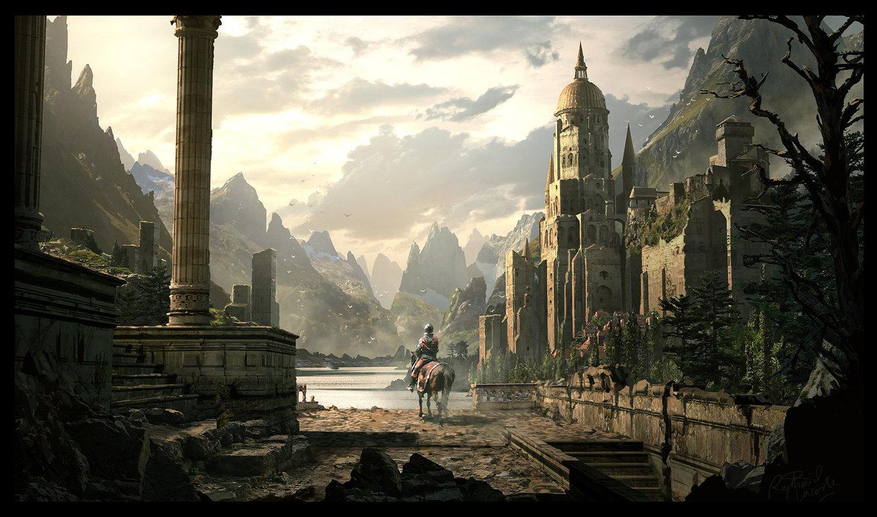 Gnomon Castle Illustration
