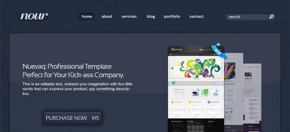 Nour: Complete WebSite Template