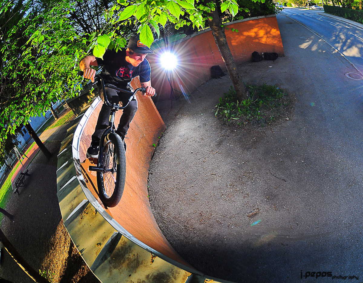 Daily Photo: BMX Curved WallRide
