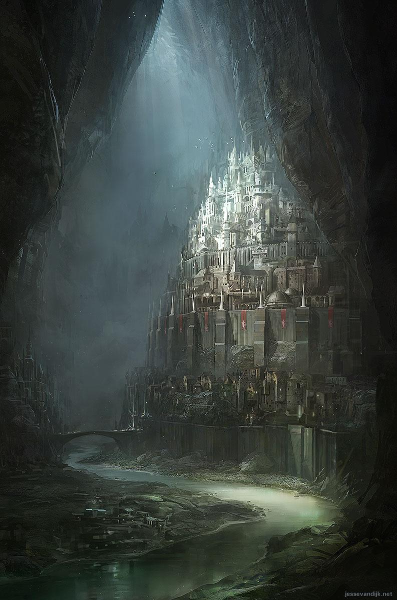 Netherworld Archipelago by Jesse van Dijk