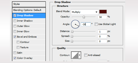 Photoshop: Sticker applying shadow