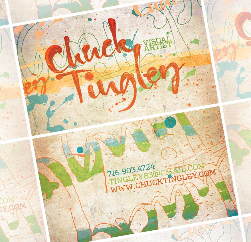 chuck tingley card