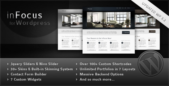 Infocus corporate wordpress theme