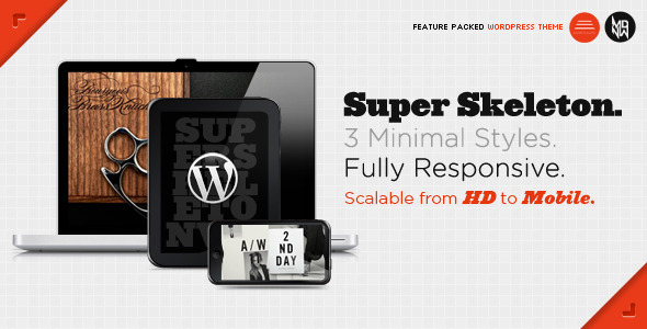 Skeleton Premium Wordpress Theme