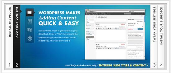 Wordpress accordion Slideshow Plugin