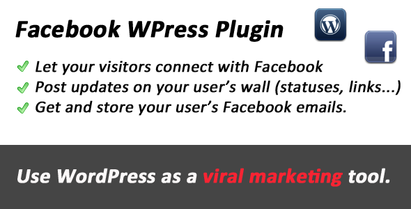 facebook viral wordpress