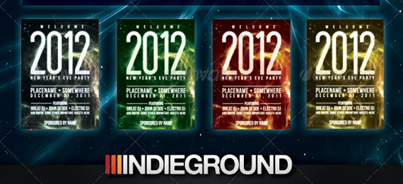 New Year Flyer/Poster