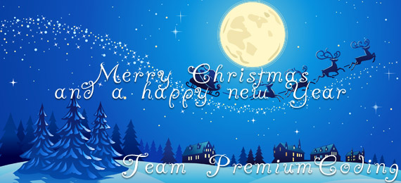Merry Christmas & a happy new Year - PremiumCoding