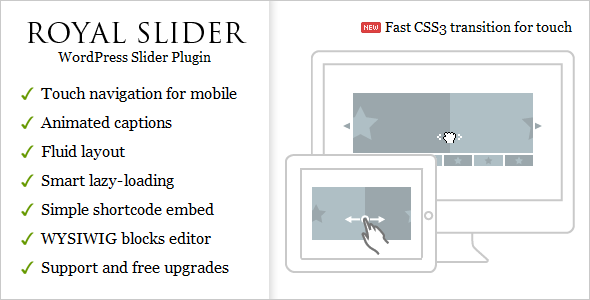 Royal slider wordpress plugin