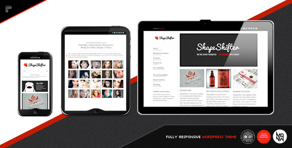 ShapeShifter wordpress theme