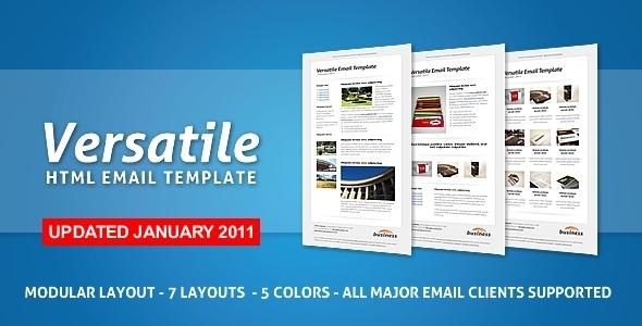 Versatile html template