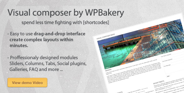 Visual composer wp plugin