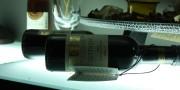A bottle of wine Merlot