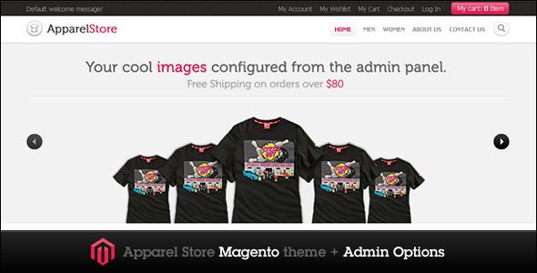 Apparel Magento Store