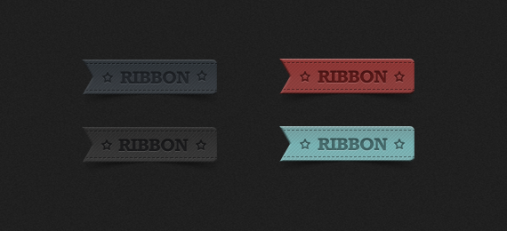 PSD ribbon