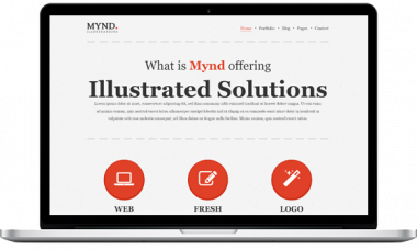 Mynd – The Illustrator