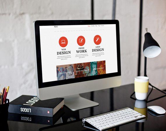 Free WordPress Theme: Mynd – Creative Portfolio Theme