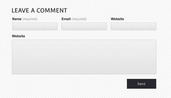 Slick contact form