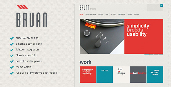 Braun Premium WordPress Theme