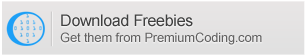 QDownload Freebies PremiumCoding.com bunları almak