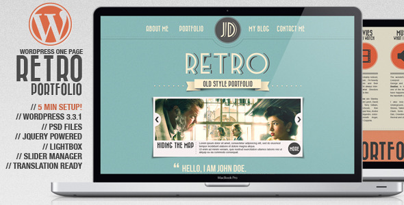 Best Retro / Vintage Wordpress and PSD Themes - PremiumCoding