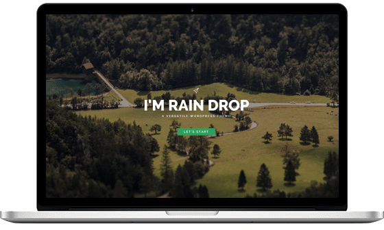 Raindrop – The Explorer
