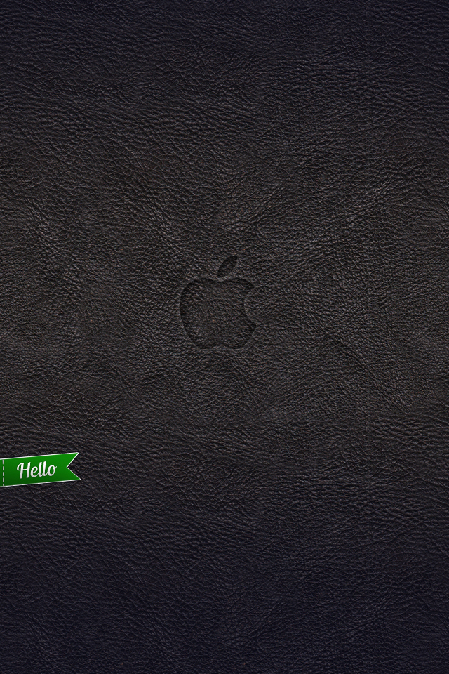 iphone leather Wallpaper