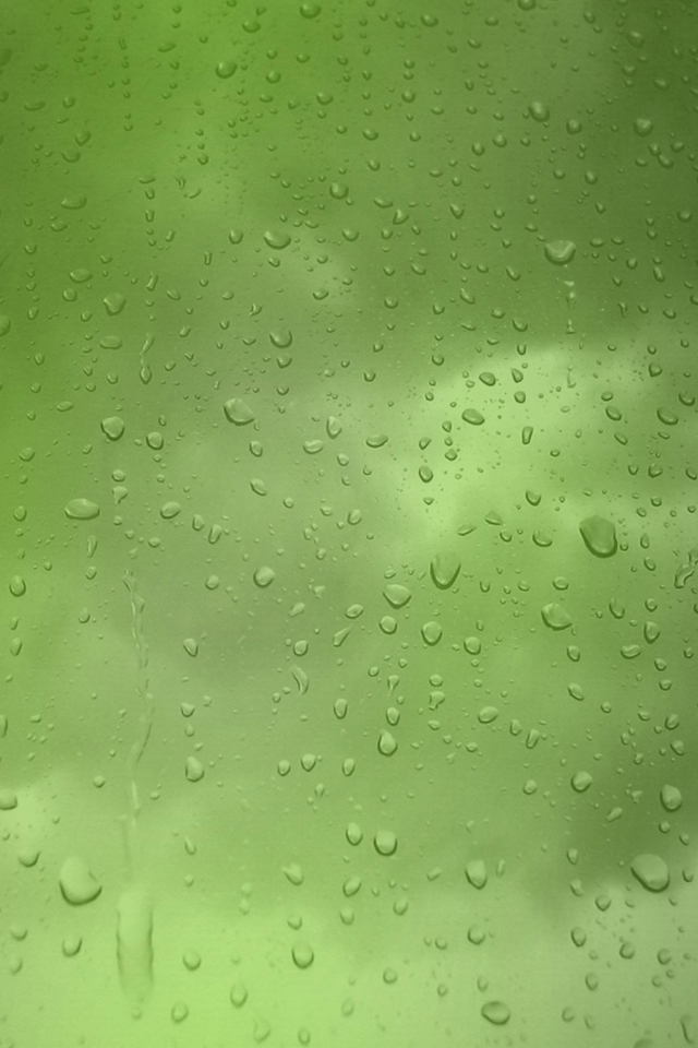 Iphone Wallpaper: Rain drops on window