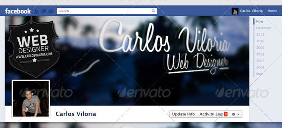 Facebook Timeline Cover for Web Designers