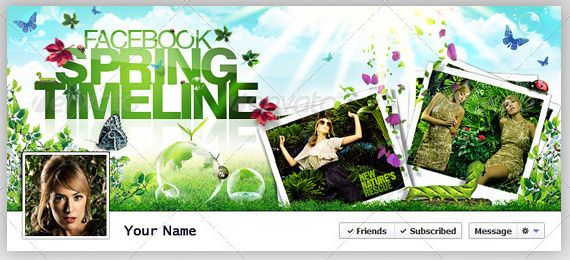 facebook spring time timeline cover