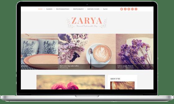 Zarya – Feminine Blog