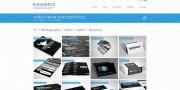 Elegantica Business Website Template Portfolio Page