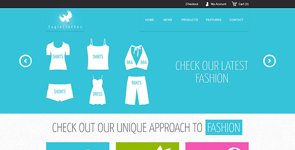 Freebie: Ecommerce Website Template (PSD)
