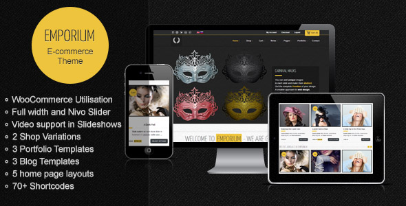 Emporium E-commerce Wordpress Theme