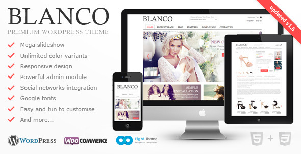 Blanco - Responsive WordPress E-Commerce Theme