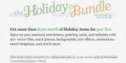 Envato holiday bundle