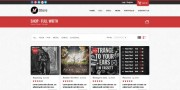 Musica - Ecommerce Website Template (PSD) - Shop Page