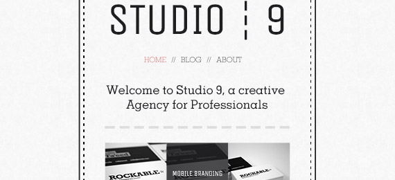 Creative Agency Portfolio Template (PSD)