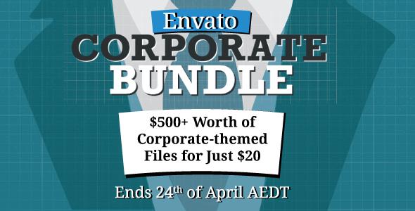 Corporate bundle WordPress graphic-psd-vector