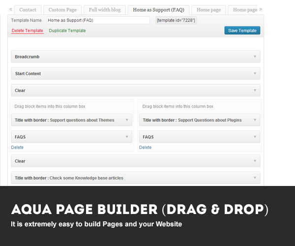 Download Revenant – Responsive Business Wordpress Theme nulled 01 page builder